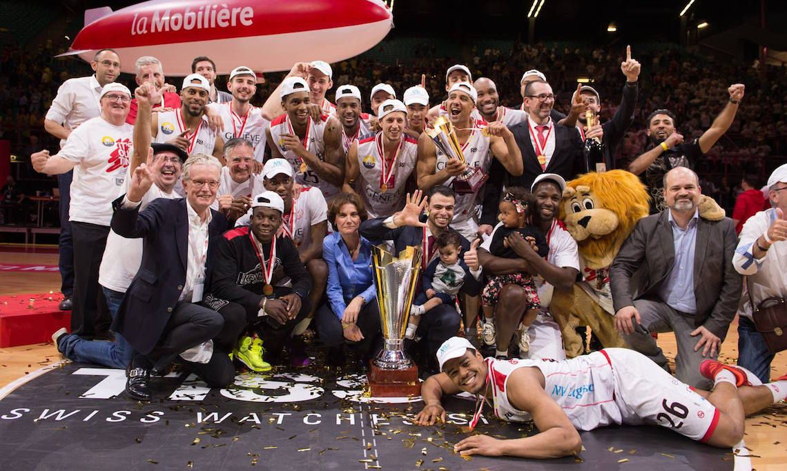 Champions Coupe Suisse Basketball masculin 2017