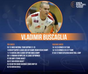 Coach Vladimir Buscaglia