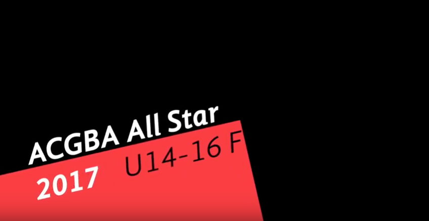 ACGBA All star 2017 - U14-U16F