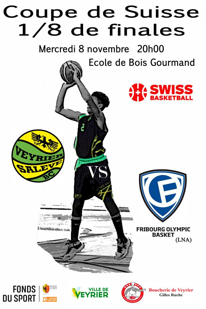 Veyrier Salève Basket Coupe Suisse