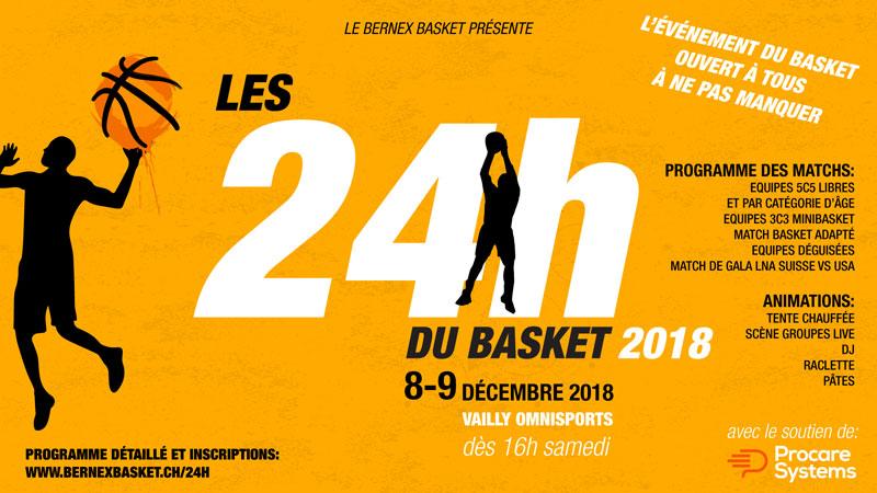 24h du basket - Bernex Basket
