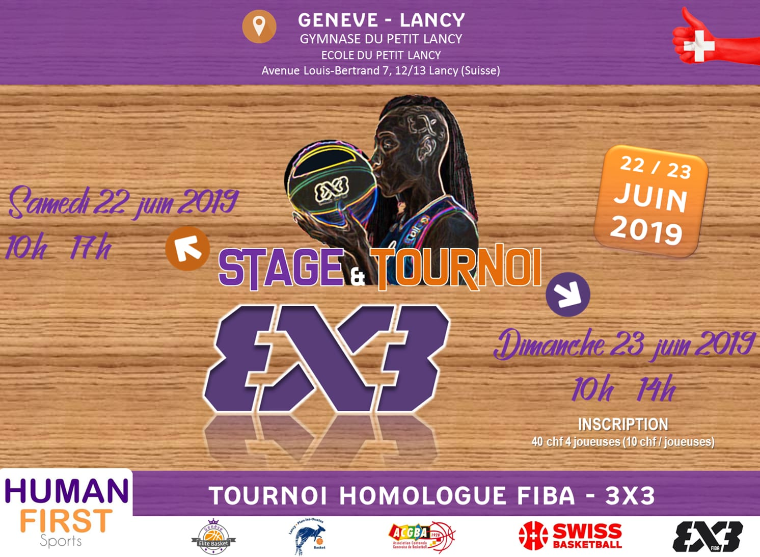 Tournoi Homologue FIBA - 3x3